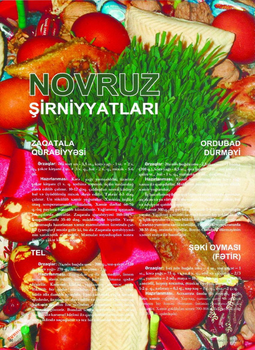 Novruz şirniyyatları