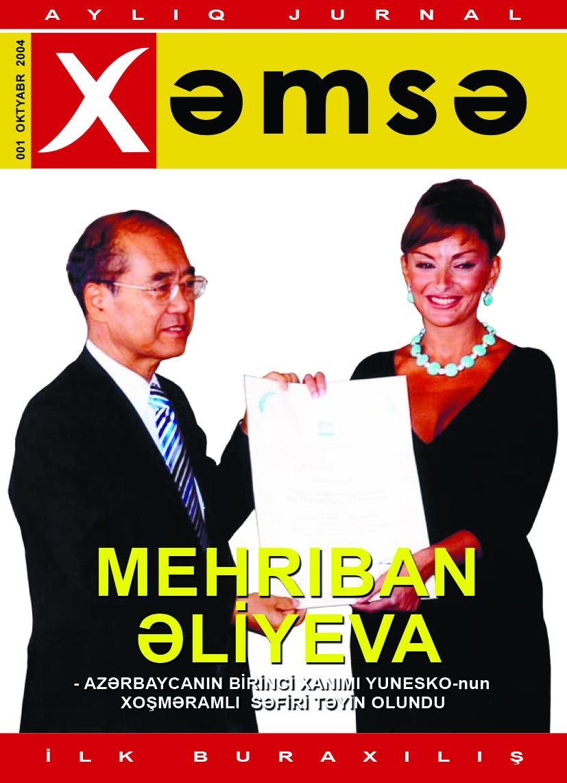 """Xəmsə"""" jurnalı, sayı 01"""