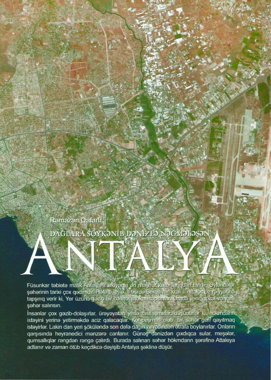 Dağlara söykənib dənizlə nəğmələşən Antalya