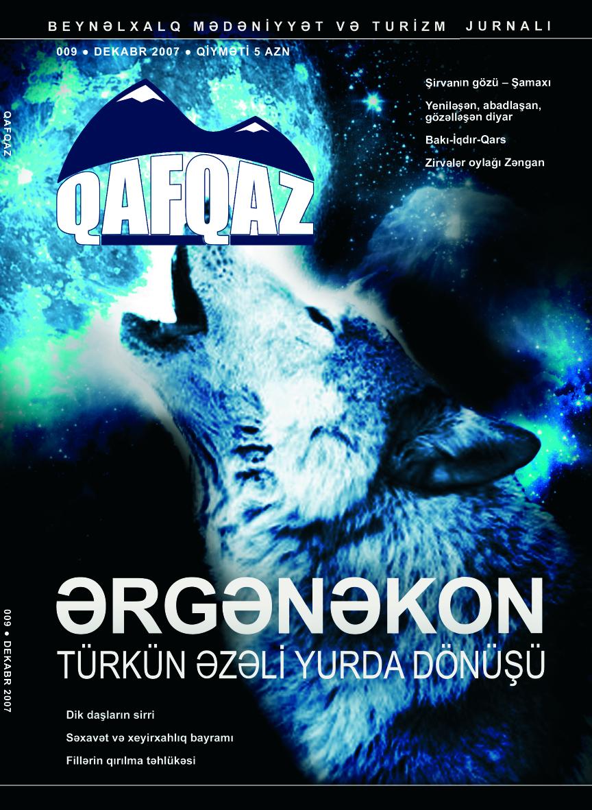 """""""Qafqaz"""" jurnalı, sayı 9"""
